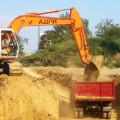 Выравнивание участка и земляные работы