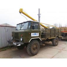 Буроям - ГАЗ Бурильная машина на базе ГАЗ 66