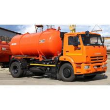 Доставка технической воды - КАМАЗ 43253, KO-520A (6 кубов)