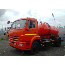 Доставка технической воды - КАМАЗ 43253, KO-520A (7 кубов)
