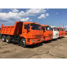 Грузовой самосвал КАМАЗ 65115-L4