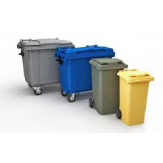 Вывоз мусора - Контейнер (пластик, металл)