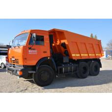 Вывоз мусора - самосвал КАМАЗ