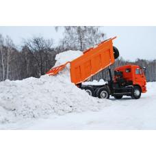 Вывоз снега - КАМАЗ 8 кубов