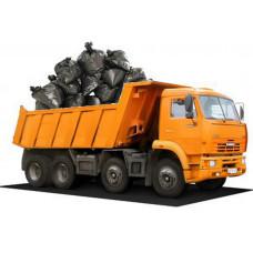 Вывоз строительного мусора - самосвал КАМАЗ