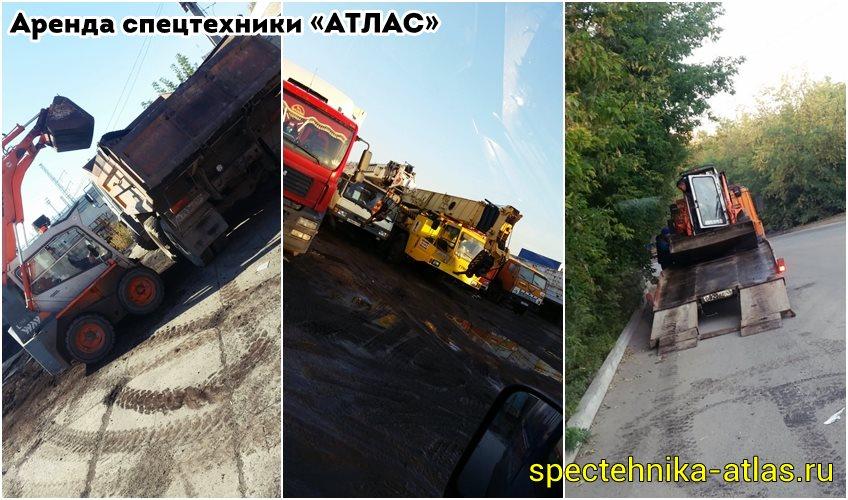 Аренда спецтехники Красноярск - фото компании АТЛАС - 02