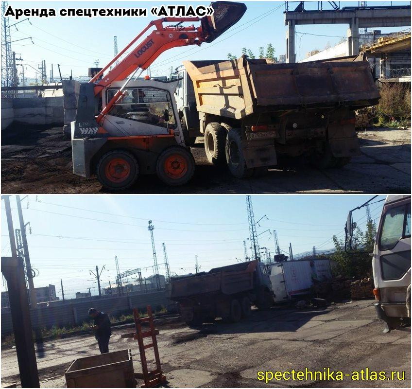 Аренда спецтехники Красноярск - фото компании АТЛАС - 11