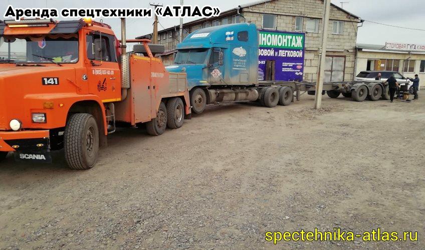 Аренда спецтехники Красноярск - фото компании АТЛАС - 17