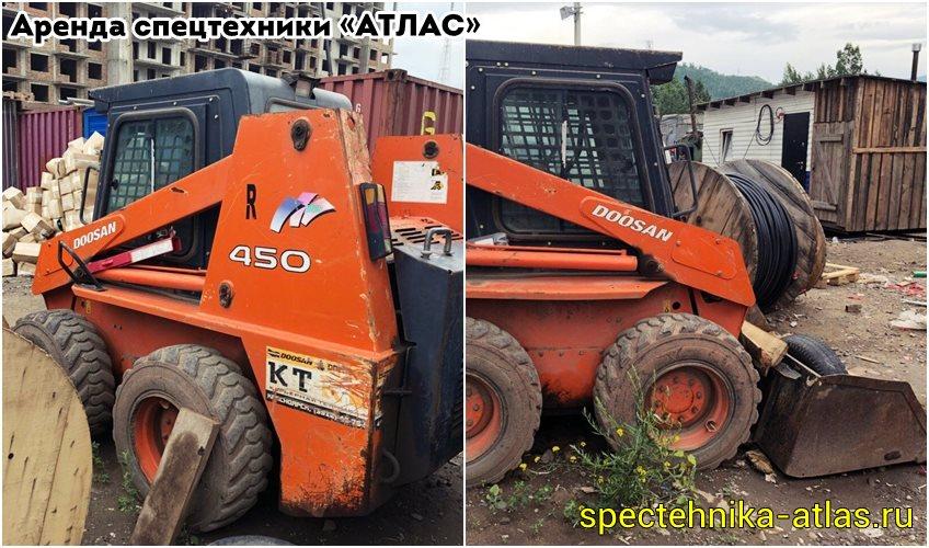 Аренда спецтехники Красноярск - фото компании АТЛАС - 21
