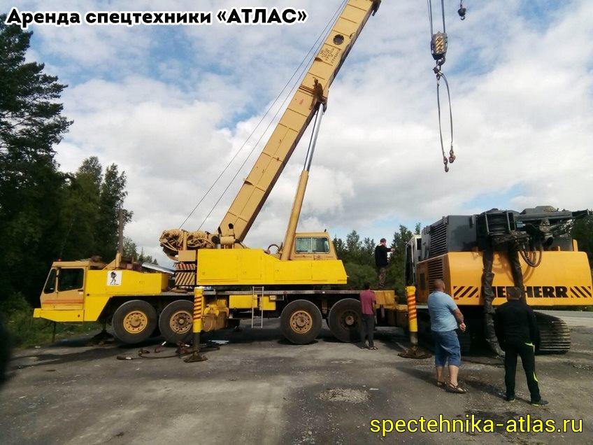 Аренда спецтехники Красноярск - фото компании АТЛАС - 23